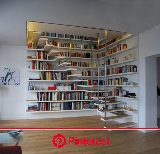 Apartment Rodrigo da Fonseca V: A Modern Apartment Interior with White Surfaces and Big Lightings   Home libraries, Interior design living room, Home