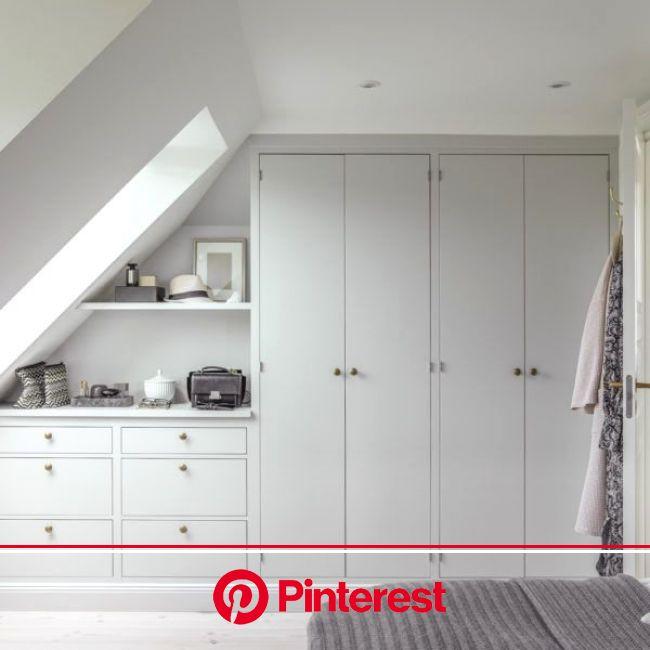 15+ Loft Room Ideas That Will Give You Extra Floor Space (2021)   Attic bedroom designs, Loft room, Attic bedroom storage