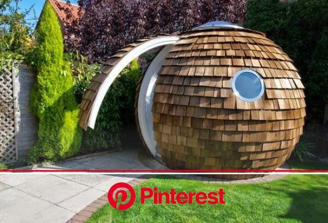 Meghan M. Biro ⚡️ on Twitter | Backyard office, Garden pods, Unique office design