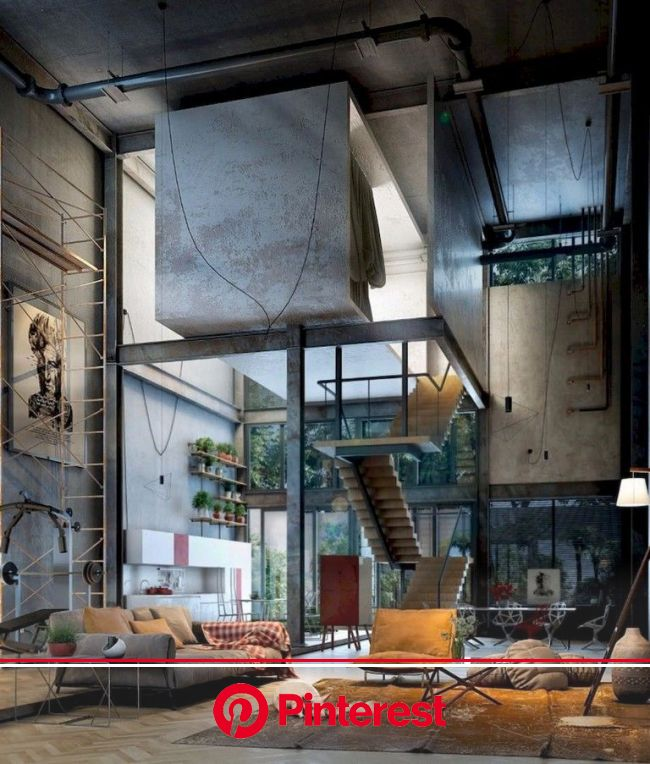 Turn Up Your Decor With These Mesmerizing Designs Your Modern Home Decor Will Never Be The Same Interiord Loft Spaces Loft House Industrial A Painless Life
