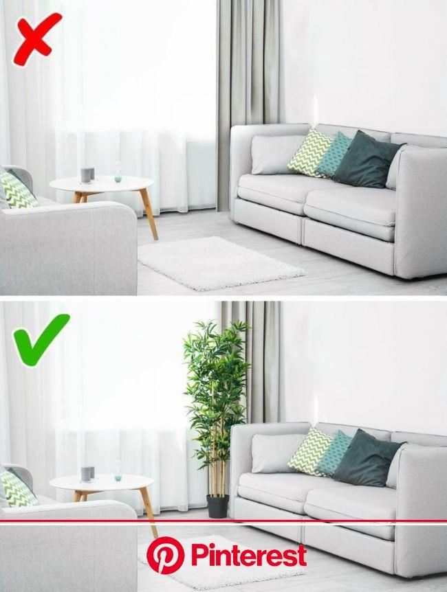 Erros na decoração da sala de estar | Moveis e decoração sala, Decoração da sala, Design de apartamento pequeno