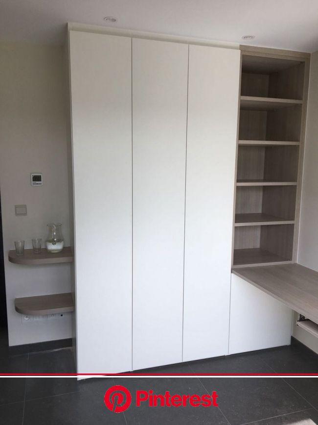 Boekenkasten - DM-line | Kleine ruimte design, Huis interieur design, Kantoor hoekje