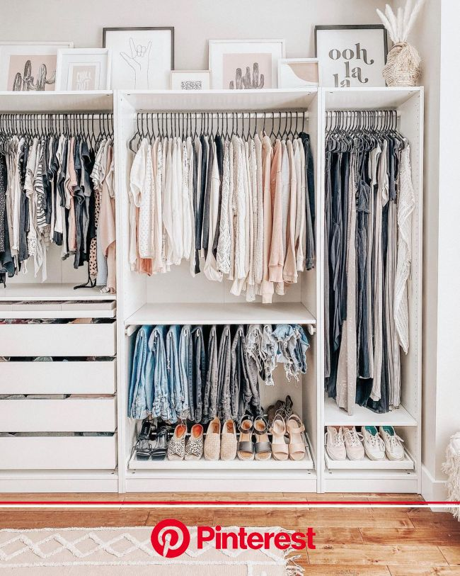 """Meghan Gallagher's Instagram profile post: """"Nothing makes me happier than putting my winter coats away and replaci…   Closet renovation, Closet decor,"""