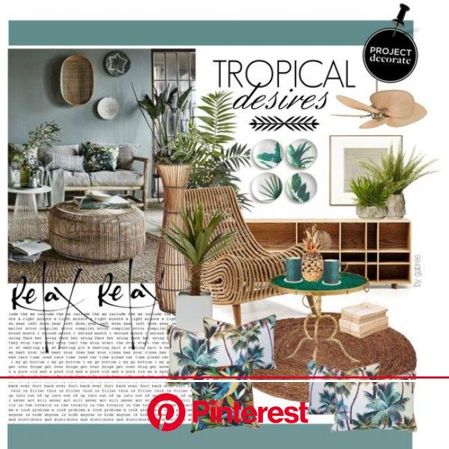 Tropical Desires | Tropical home decor, Tropical interior, Tropical interior design
