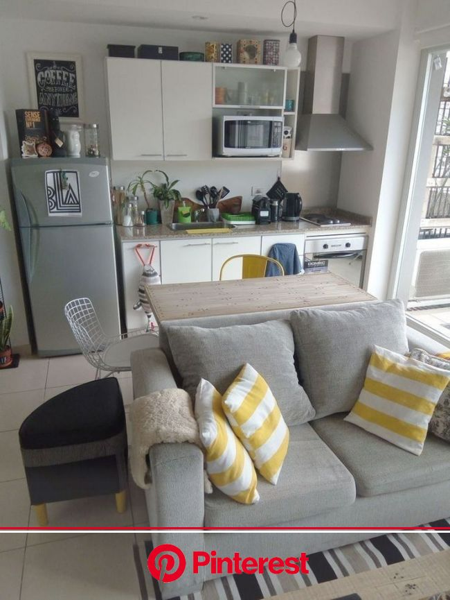 Smart Small Apartment Decorating Ideas On a Budget #smallapartementdecor #apartemen… | Small apartment living room, Small apartment interior, Small ap