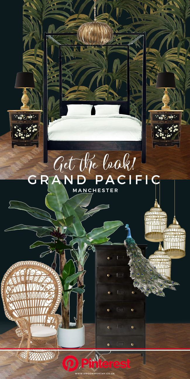 Get the Look: A Visit to the Eclectic Glam Grand Pacific, Manchester - Swoon Worthy | Tropical home decor, Asian home decor, British colonial decor