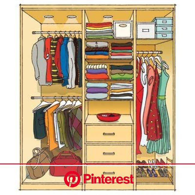 How to Gain More Closet Space Without Renovating | Smart closet, Closet remodel, Closet bedroom