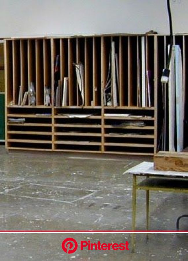Lately it's been tough to find time to paint and one thing I've always struggled with is working…   Art studio storage, Art studio organiza