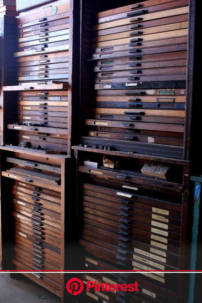 la printers fair drawers and drawers of type   Urban industrial decor, Drawers, Printers drawer