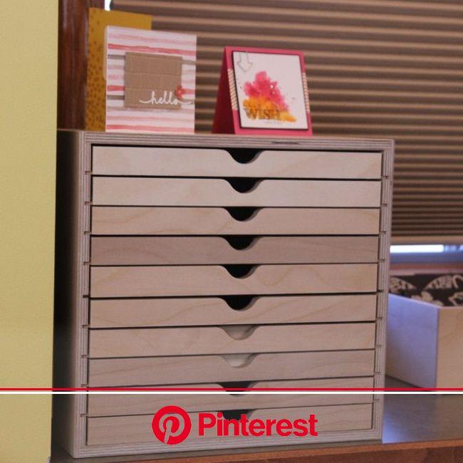 Drawer Cabinet in 2021   Craft storage drawers, Craft room storage, Craft storage cabinets