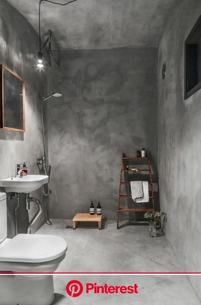 Concrete bathroom - COCO LAPINE DESIGN | Bathroom interior, Concrete bathroom, Bathroom interior design