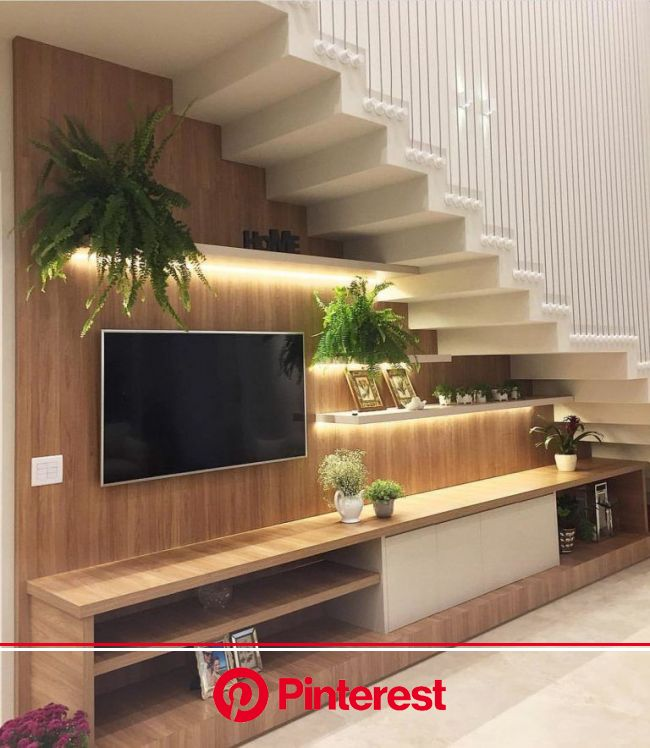 30 Amazing Tv Unit Design Ideas For Your Living Room The Wonder Cottage Stairs In Living Room Living Room Under Stairs Room Under Stairs Painless Life