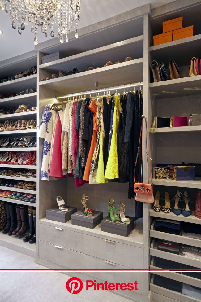 We Found The Celebrity Closet Of Our Dreams | Closet designs, Dressing room closet, Closet design