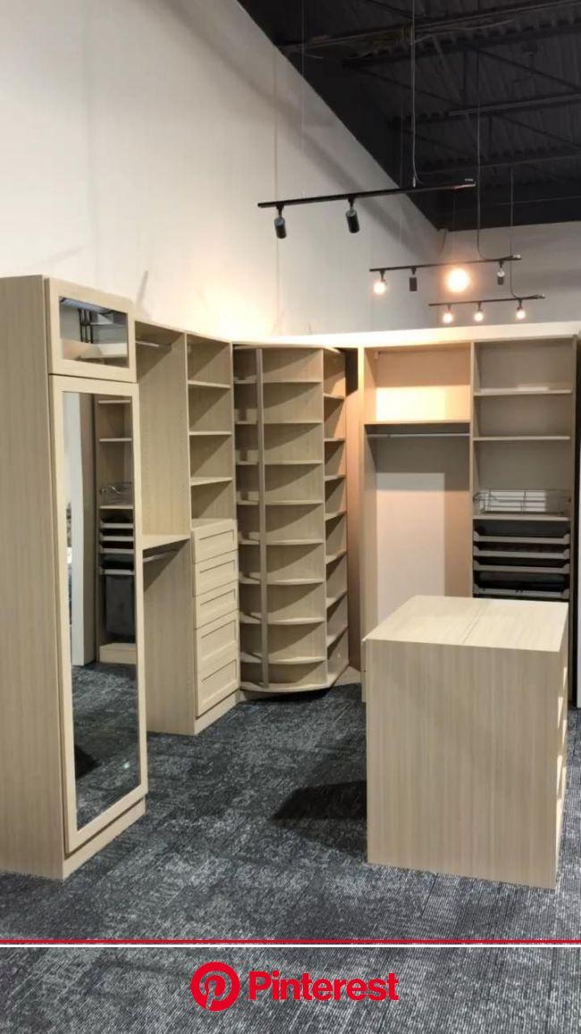 Luxury closet, closet island, shoe spinner [Video] | Luxury closets design, Dream closet design, Bedroom closet design