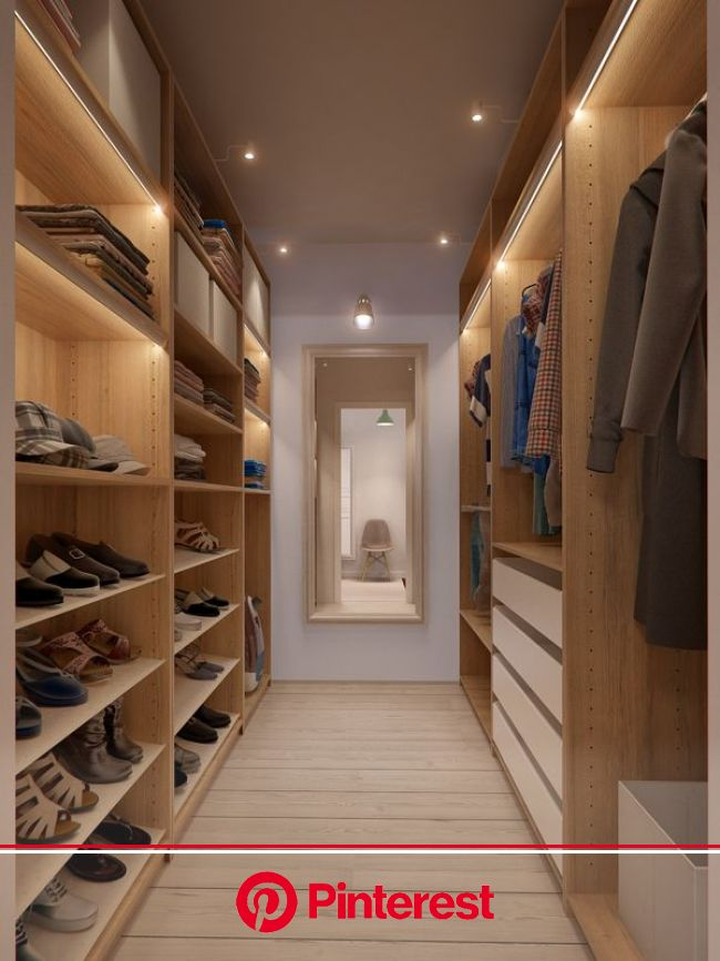 Charming Russian apartment with open and functional interiors | Walk in closet design, Apartment design, Closet design