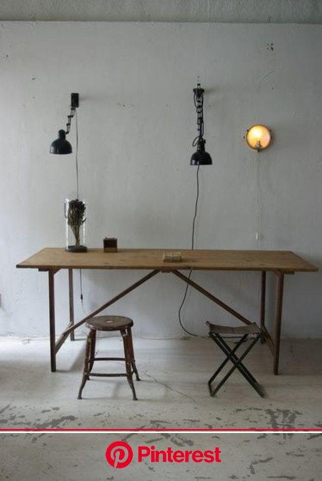 フランス アトリエテーブル    UNPLUGGED BLOG   インテリア 家具, インテリア, リビング インテリア