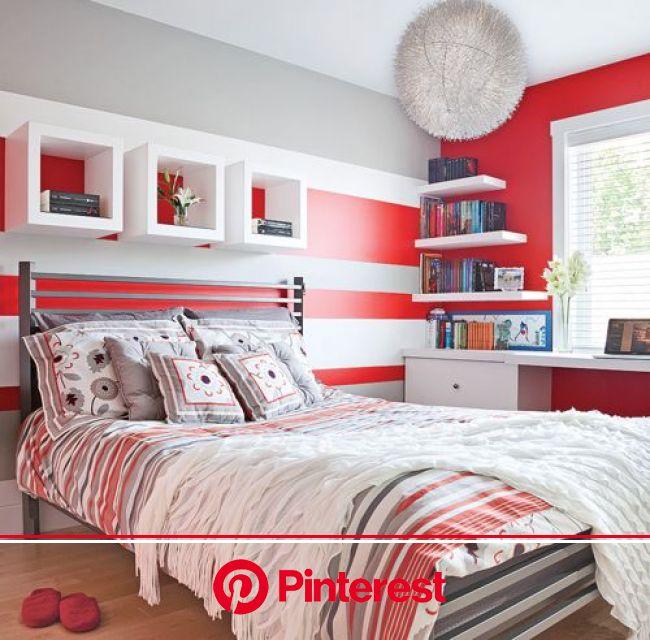 Peinture: 15 couleurs ultratendance - Je Décore   Red rooms, Boy room paint, Bedroom red
