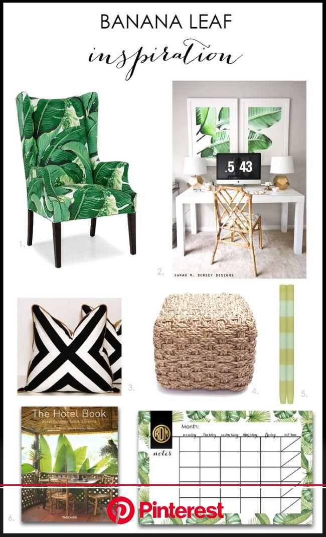 Banana Leaf Home Decor Ideas for a Modern Fresh Look! | Tropical home decor, Tropical interior, Tropical decor
