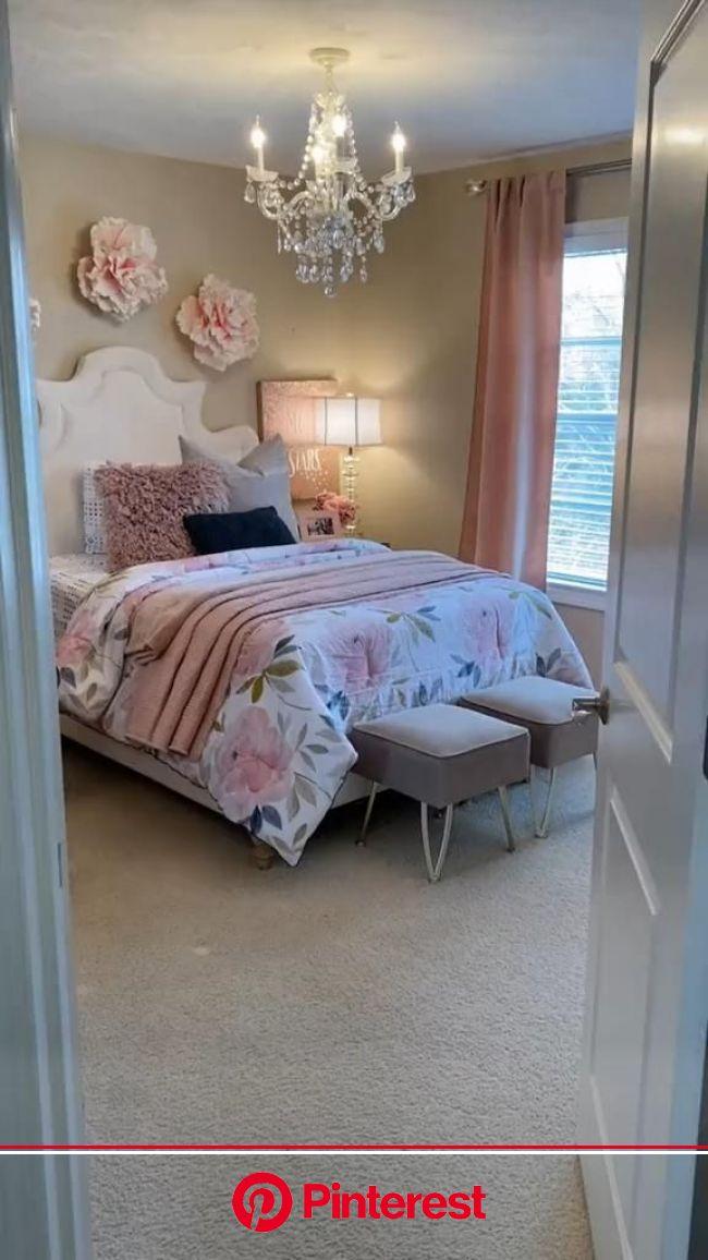 Easy Home Decor Bedroom  Idea [Video] | Bedroom decor, Home decor bedroom, Room design bedroom