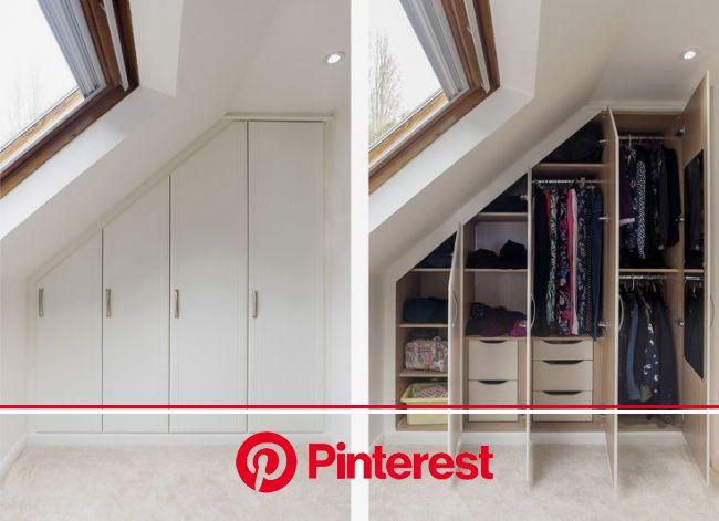 15+ Loft Room Ideas That Will Give You Extra Floor Space (2021)   Attic bedroom designs, Attic bedroom storage, Loft room
