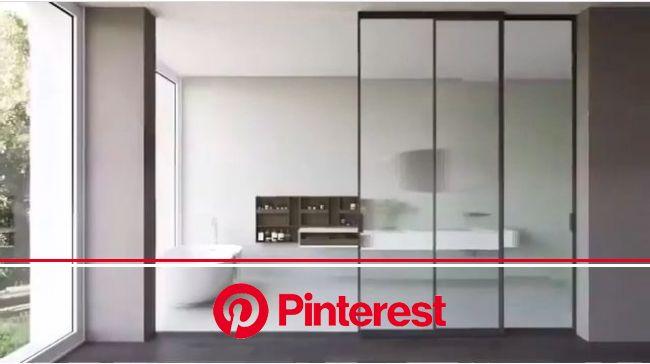 Sliding doors transform your [Video] | Sliding glass door, Glass bathroom door, Room divider doors