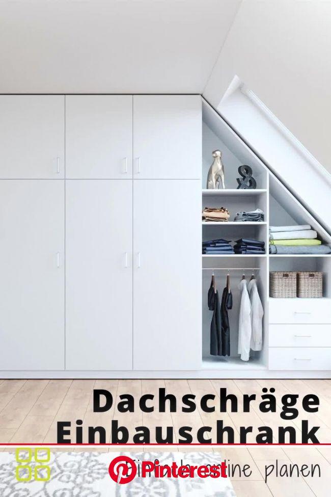 Einbauschrank für Dachschrägepassgenau planen   3D Konfigurator von schrankwerk.de [Video]   Einbauschrank dachschräge, Einbauschrank, Schrank dachsch