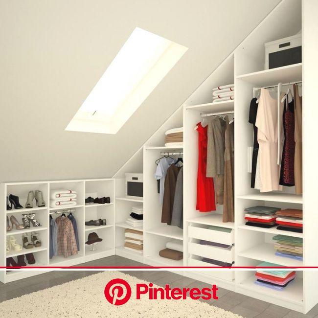 15+ Loft Room Ideas That Will Give You Extra Floor Space (2021)   Attic master bedroom, Attic bedroom storage, Attic bedroom closets