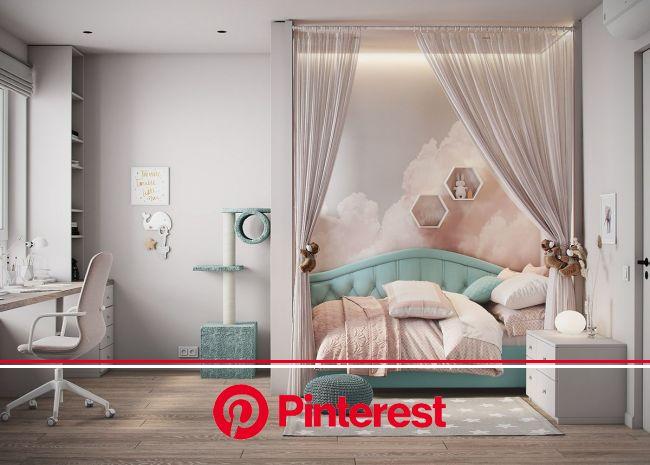 "apartment in Moscow ZHK ""Yaroslavskiy"" on Behance | Kids interior room, Room design bedroom, Kids bedroom decor"