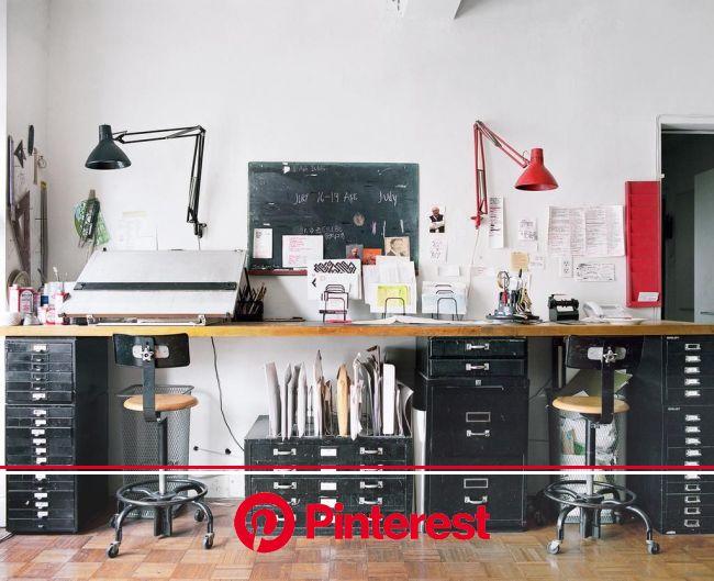 It's Nice That on Twitter   Workspace design, Home office design, Art studio room