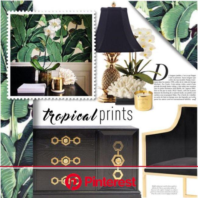 Tropical Glam | Tropical theme bedroom, Tropical interior design, Tropical interior