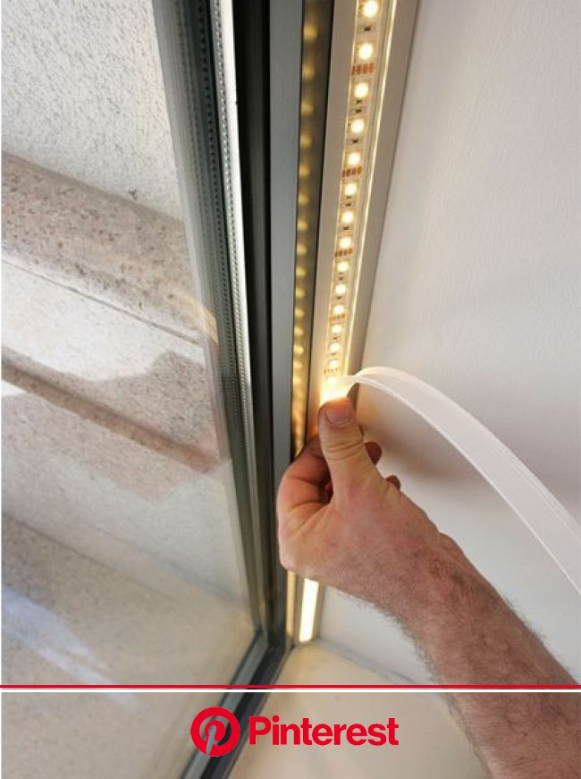 #MondayMotivationWhere can you use tape light? The answer is just about anywhere! Use Klus tape light c… | Led stair lights, Stair lights, Lighting d