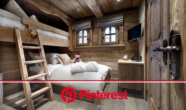 Chalet le Petit Chateau in the French Alps Promises to Pamper Your Senses in Luxury | Chalet interior design, Rustic bedroom design, Chalet interior
