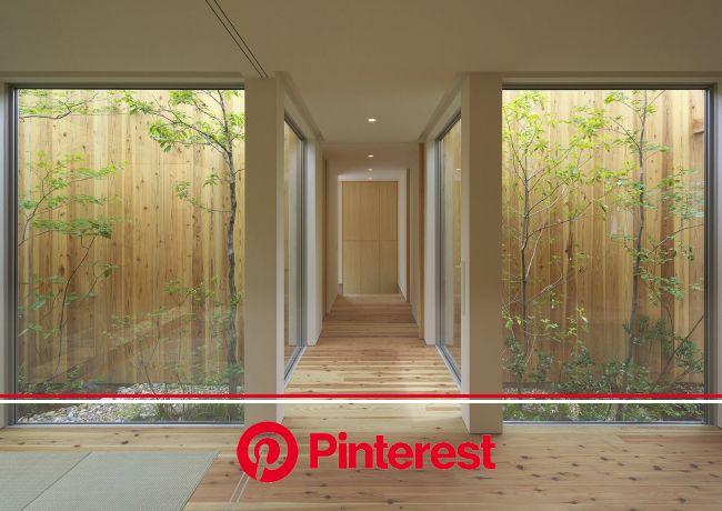 Gallery - House in Nishimikuni / Arbol Design - 13 | Modern japanese garden, Japanese garden landscape, Interior garden