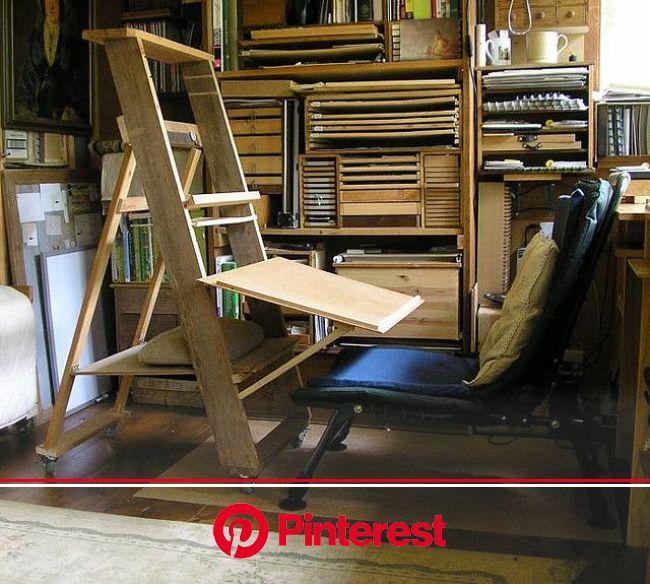 DIY Easel-Work Station   Artist studio space, Diy easel, Artistic space