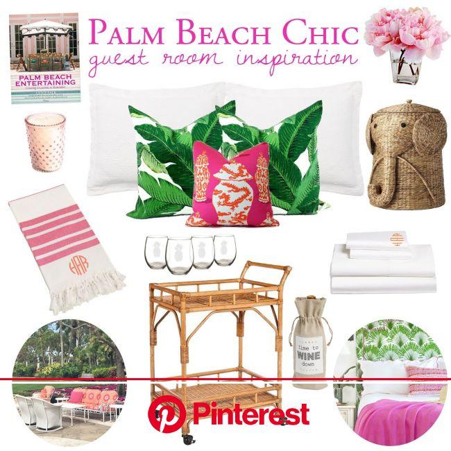 Palm Beach Inspired Guest Room | Palm beach decor, Palm beach style, Palm beach regency