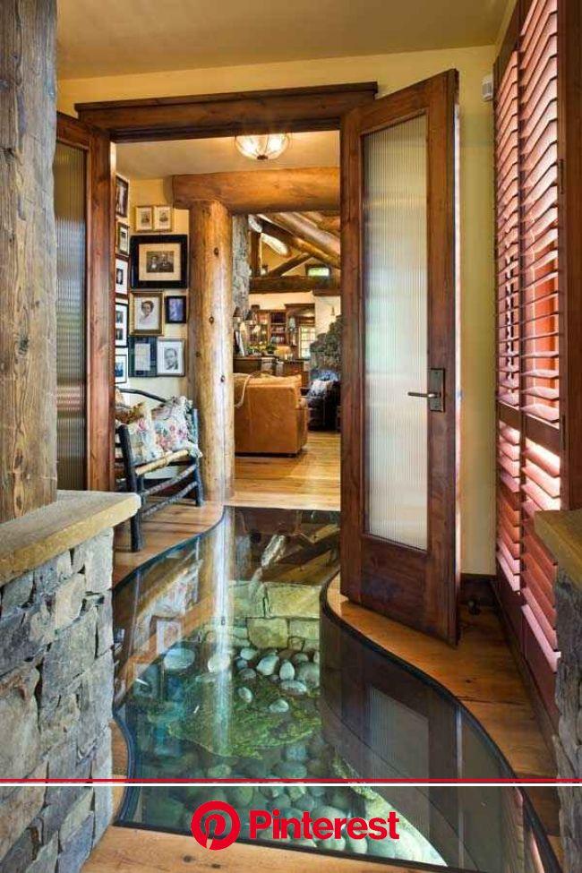 A Creek That Runs Through Your Hallway | House, House design, House built