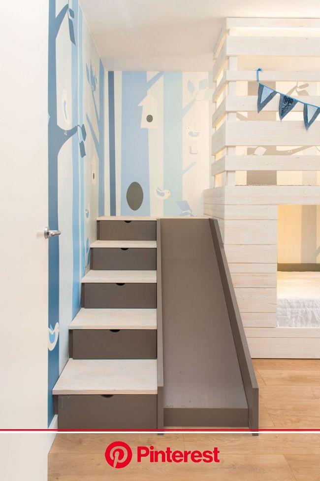 〚 Детская, о которой все мечтали в детстве 〛 ◾ Фото ◾ Идеи ◾ Дизайн | Kid room decor, Kids bed with slide, Kids room design