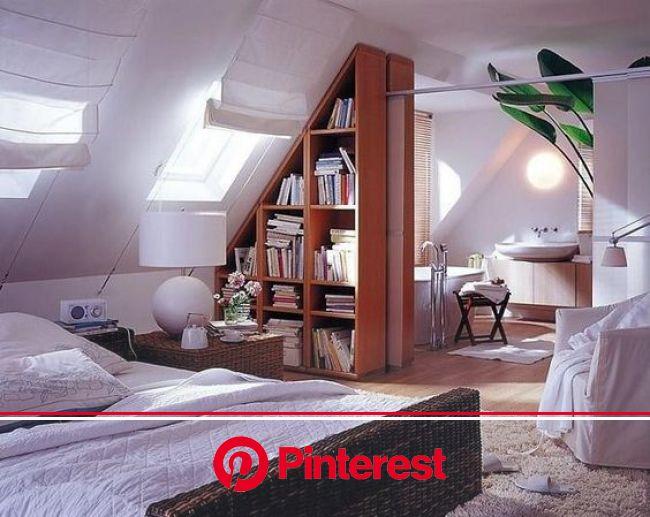 Suite parentale.:   Спальня в мансарде дизайн, Дизайн дома, Чердачные пространства