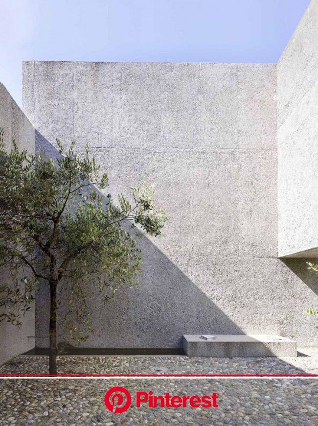 House in Brissago | Wespi de Meuron Romeo architects | Concrete architecture, Minimalist architecture, Concrete house