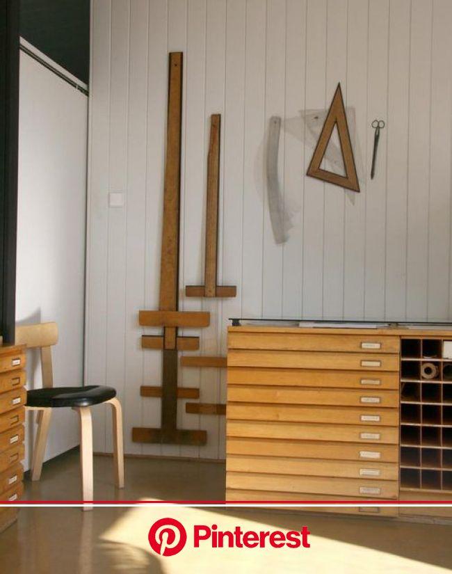 Apartment Therapy   Alvar aalto, Workspace studio, Office design