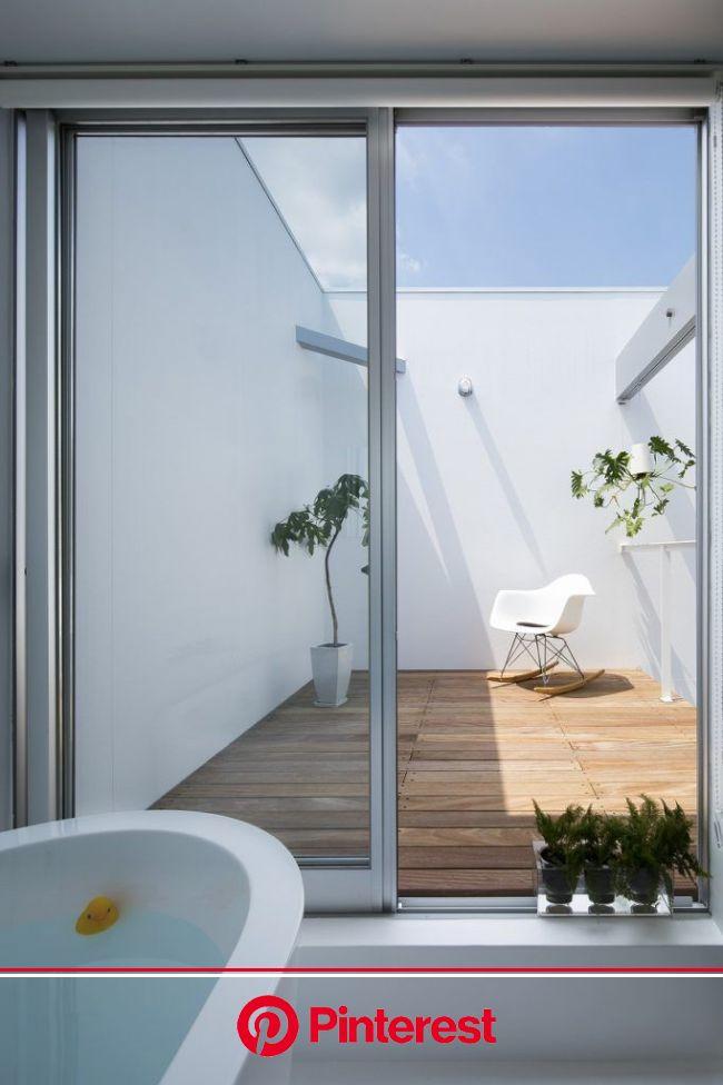 レオンクンチ | 岡山の建築家久成文人/En.Architecture+Design | 中庭のある平屋, 建築家, 浴室 インテリア