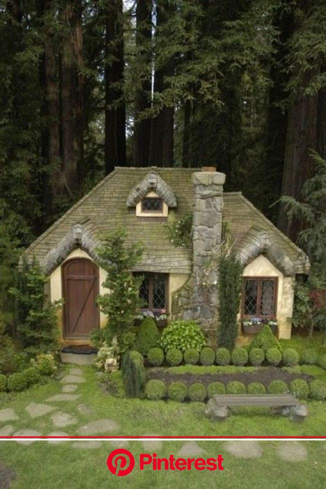 Fairytale Abodes: 15 Tiny Storybook Cottages - WebEcoist | Cottage in the woods, Cute cottage, Storybook cottage