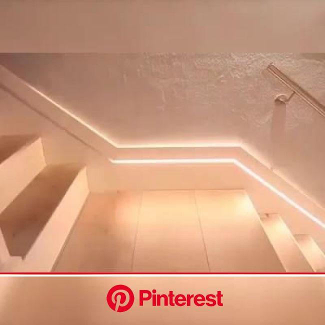 led motion sensor waterproof light belt [Video] | Lighting design interior, Ceiling design living room, Ceiling design