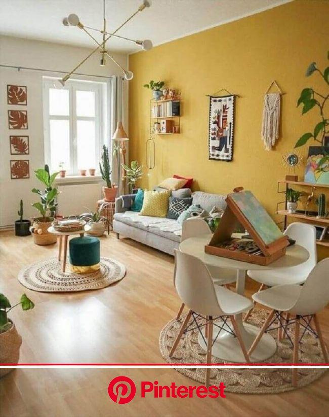 Cor Mostarda: +57 Ideias Coloridas para Decorar sua Casa em 2020 | Decoração sala simples, Decoraçao sala pequena simples, Decoração da sala
