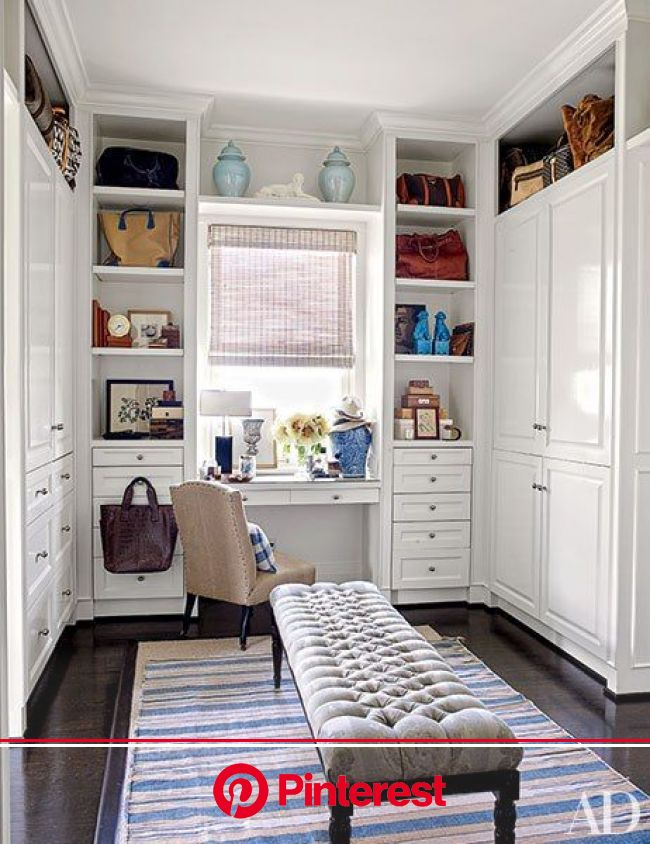 23 Dressing Rooms That are Sure to Inspire a Closet Makeover | Dressing room design, Built in furniture, Dressing room closet