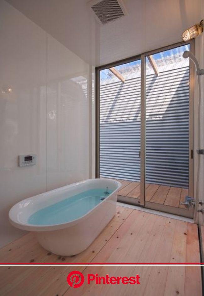 水庭の家 - 注文住宅事例|SUVACO(スバコ) | 家, 自宅で, バスコート