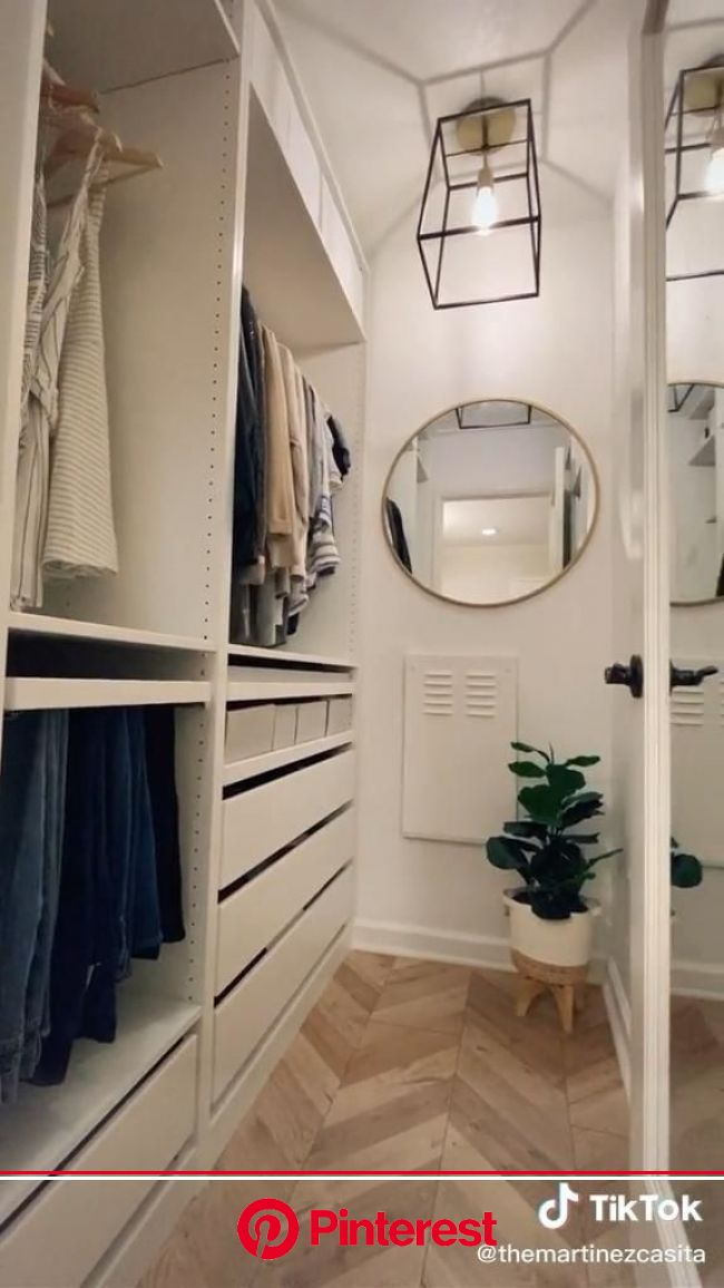 OMGOSH this closet transformation is incredible ???? [Video]   Closet renovation, Closet decor, Closet design layout
