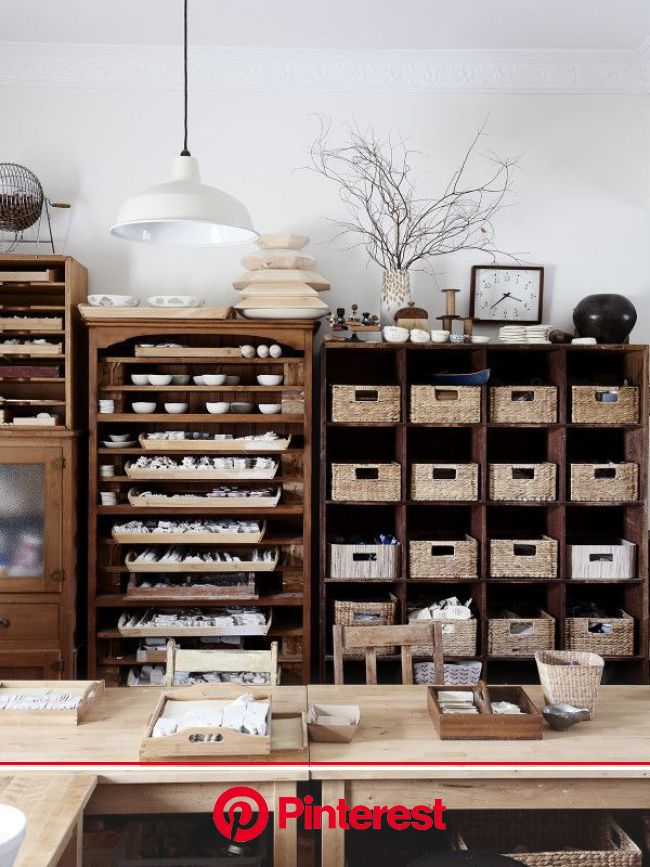 Kylie Johnson - The Design Files   Australia's most popular design blog.   Art studio room, Art studio organization, Studio room