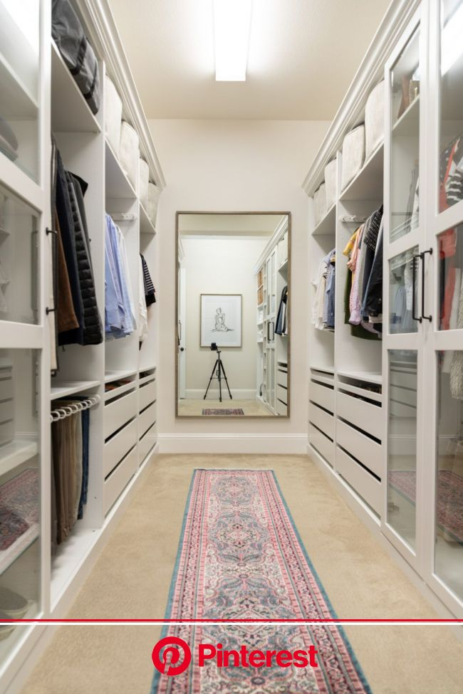 Walk-in Closet Makeover with IKEA PAX - Crazy Wonderful   Closet remodel, Closet makeover, Ikea closet hack