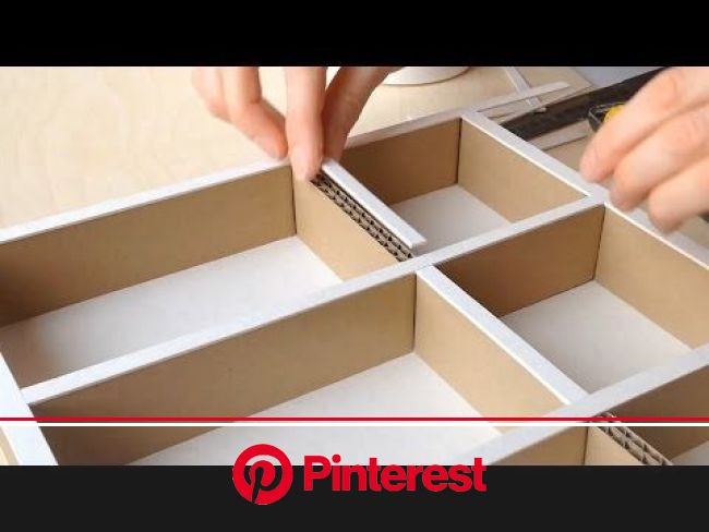 Cleaning Checklist Items DIY Projects Craft Ideas & How To's for Home Decor with Videos   Cardboard drawers, Diy cardboard furniture, Desk organiz